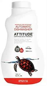 Amazon Com Attitude 2x Automatic Dishwasher Liquid