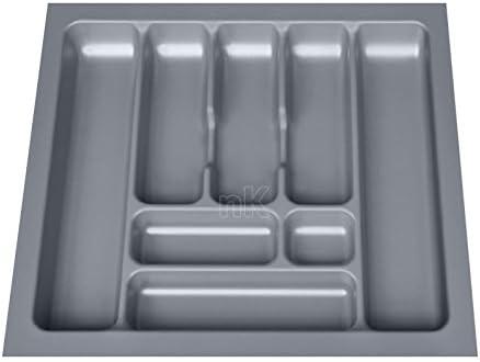 Amco Portaposate universale con 8 scomparti B 500-540 x T 440-490 mm Argento