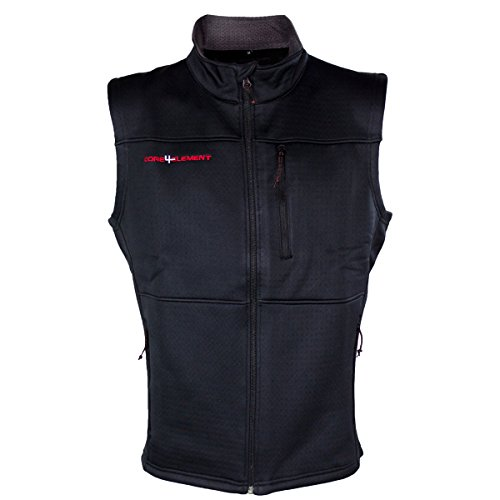 Easton Core4Element Fleece Selway Black Vest (XL)
