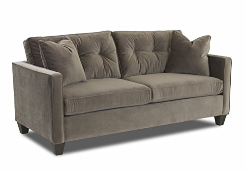 Klaussner 012013378816 Brower Sofa, CHARCOAL - Klaussner Home Furniture