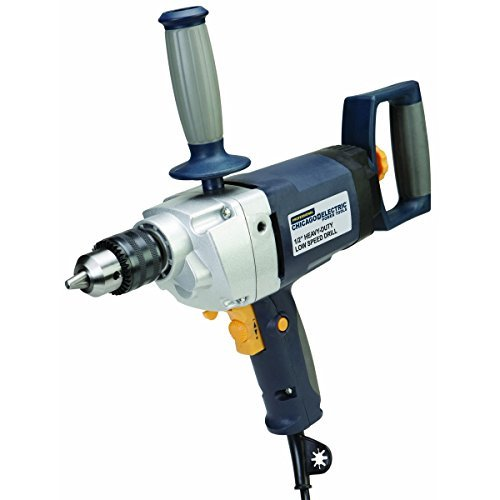 1/2 in. Heavy Duty Low Speed Drill from TNM by Chicago Electric Power Tools Professional Series