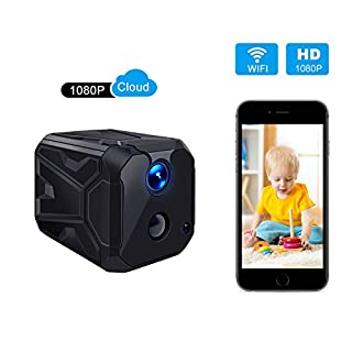 Security Low Power WiFi Rechargeable PIR Motion Sensor Wireless HD Home Indoor Camera, 1080p, 2-Way Audio, Support 128G TF Card, Phone APP View, Long Battery Life, Super Long Standby
