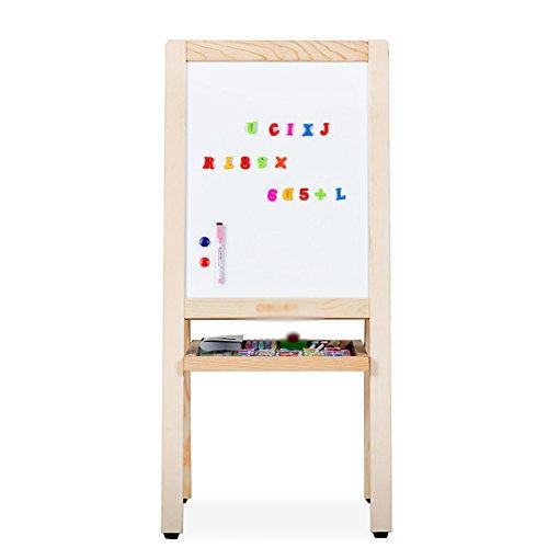 子供の両面描画ボードホワイトボード黒板多機能木製の縦型イーゼル (サイズ さいず : Small)