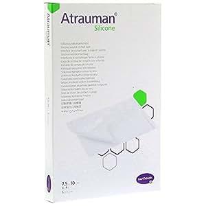 Atrauman silicone HARTMANN 7.5x10 cm capa de silicona de