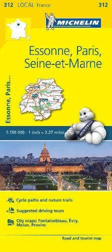 Download Michelin FRANCE: Essone, Paris, Seine-et-Marne Map 312 (Maps/Local (Michelin)) pdf