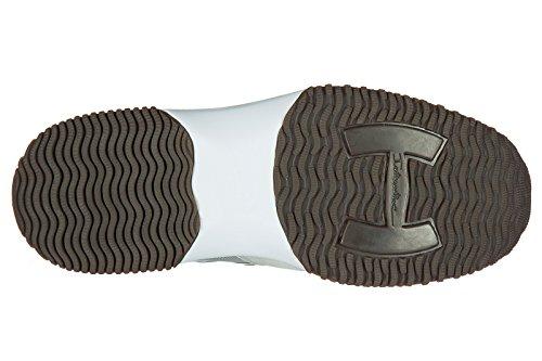 Sneakers Scarpe Camoscio Grigio Uomo Sneakers Affollano Pm Hogan A Interattivo Z56q6T