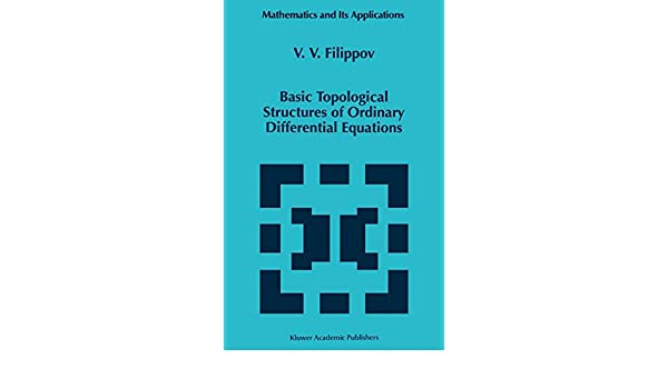 Basic topological structures of ordinary differential equations
