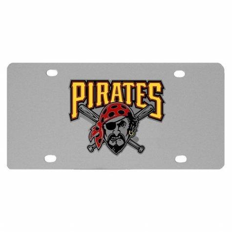 UPC 754603003387, MLB Pittsburgh Pirates Team Logo License Plate