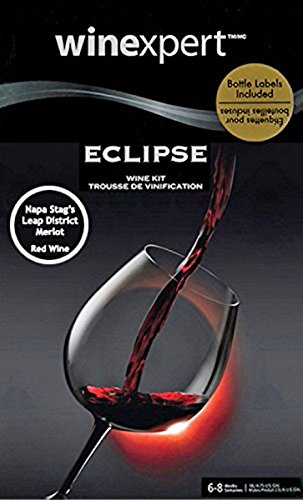 Winexpert Eclipse Napa Valley Stag's Leap District Merlot (with Grape Skins) Wine Ingredient Kit