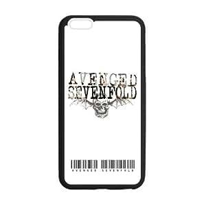 the Case Shop- Avenged Sevenfold iPhone 6 Plus 5.5 Inch TPU Rubber Hard Back Case Cover Skin , i6pxq-191