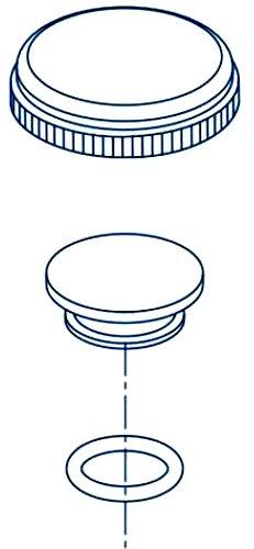 Red-White Valve 2RW5071PP Polypropylene Ball Valve Threaded 2 2 Standard Plumbing Supply