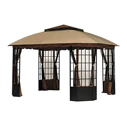 Garden Winds Replacement Canopy for Sutton Pagoda Gazebo - Riplock 350 Performance Fabric