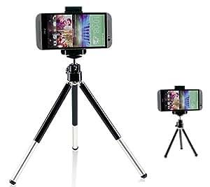 Extensible Cámara Trípode Montaje Soporte Sostenedor Soporte Para HTC one M9 M8 M7 Max mini teléfono móvil