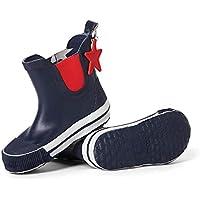 Penny Scallan Kids Gumboots Navy Star Size AU6 / EU23