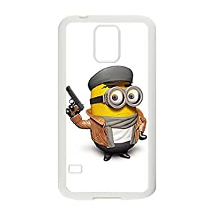 Happy Police Minions Design Pesonalized Creative Phone Case For Samsung Galaxy S5