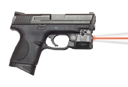 (Viridian C5L-R Universal Red Laser Sight and Tac Light for Sub-Compact Handgun Pistols, ECR Instant On Technology)