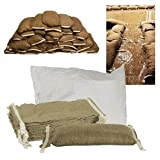 Home Flood Barrier Kit - Water Activated Sandbags x 25 by Dam it Up Bag