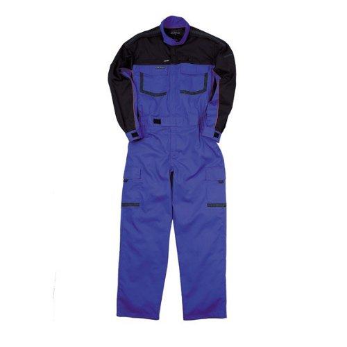 kurehifuku(クレヒフク)つなぎ おしゃれ ツナギ ピットスーツ カジュアルつなぎ kr-kr904 B008H1XEHA LL|ブルー ブルー LL