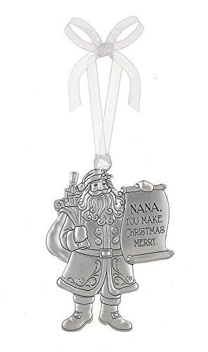 (Ganz Santa Special Nana Holiday Tree Ornament)