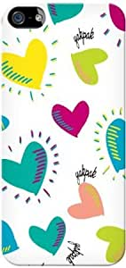 Bloutina Yak Pak Case for iPhone 5 - Happy Hearts ICP5069-1304)
