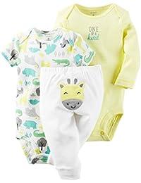 Carter's Baby Girls Take Me Away 3 PC Set Super Adorable Polar Bear 12 Months