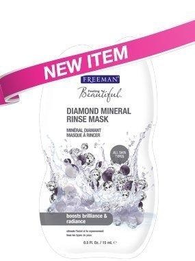 Freeman Diamond Mineral Rinse Mask, Travel Size 0.5 fl Oz