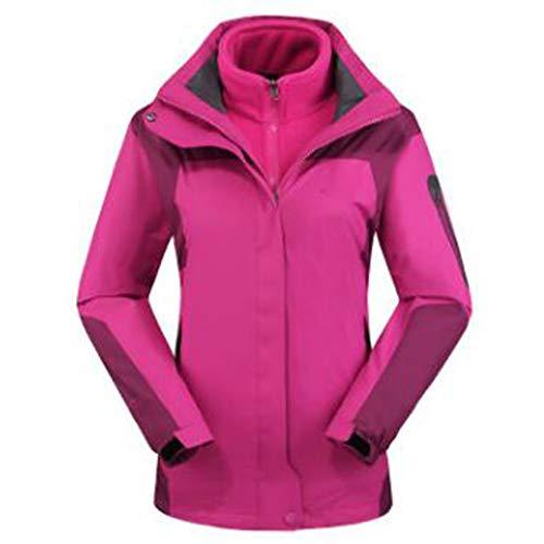 Wu Abbigliamento Alpinismo Lai Vestiti Trekking Rosered Impermeabili Outdoor Usura Rampicanti Giacche Signore 44Urx