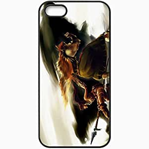 Personalized iPhone 5 5S Cell phone Case/Cover Skin Http Nfouque Deviantart Com Art League Of Legends Fear The Wild 300557995 Black