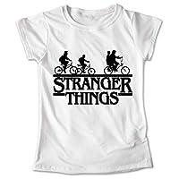 Blusa Stranger Things Colores Playera Bicicletas 038