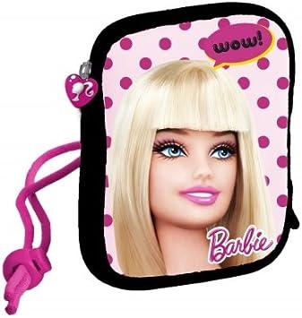 Barbie - Funda Blanda para cámara de Fotos compacta, diseño de Barbie: Amazon.es: Electrónica