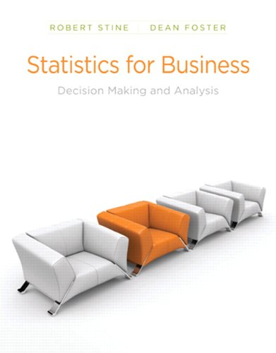 Statistics for Business Instructor's Edition