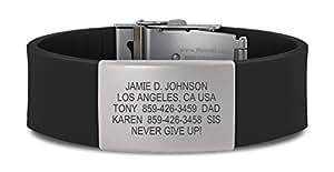 Road ID Bracelet - the Wrist ID Elite - Identification Bracelet, ID Wristband, and Sport ID