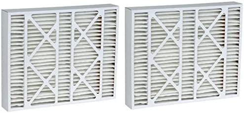 16x25x5 2 Pack MERV 11 Aftermarket White Rodgers Replacement Filter 15.5x24x4.25
