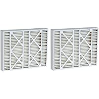 24x25x5 (23.75x24.75x4.38) MERV 8 Aftermarket Bryant Replacement Filter (2 Pack)