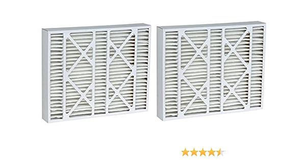 19.75x19.88x4.38 MERV 11 Aftermarket Lennox Replacement Filter 20x20x5 2 Pack