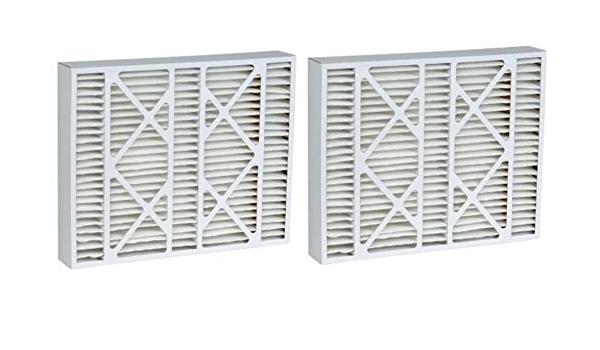 15.88x24.88x4.38 MERV 11 Aftermarket Lennox Replacement Filter 16x25x5 2 Pack