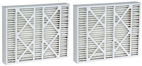 Rodgers Furnace Filters White (16x25x5 (15.5 x 24 x 4.25) MERV 15 Aftermarket White Rodgers Replacement Filters (2 Pack))