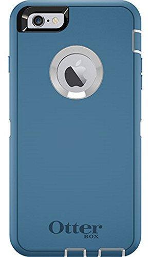OtterBox DEFENDER iPhone 6 Plus/6s Plus Case - Retail Packaging - DEEP WATER BLUE/WHITE