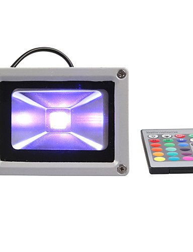 ZQ Character design 30W RGB LED Flood light Outdoor Garden Hotel Landscape Spotlights , warm white-90-240v