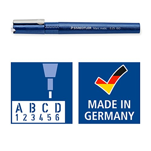 Staedtler Mars Matic 700 M025 Technical Pen - 0.25 mm by Staedtler (Image #4)