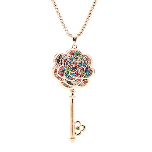 CherryGoddy Open Your Heart Jewelry Key European And American High-End Fashion - Gardens Collection The Jersey Outlet