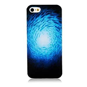 TY-Patrón Vortex Caso de silicona suave para iPhone5/5S