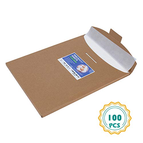Parchment Paper Sheets-100, 16x24 inch, Full Sheet Baking Pan Liners for Baking, Cooking-No Curl, No Tear, No Burn