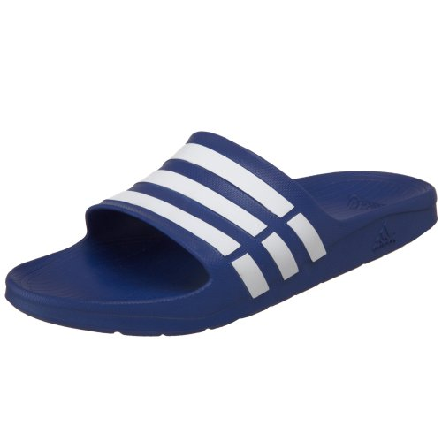 adidas Duramo Slide Sandal,True Blue/White/True Blue,11 M US