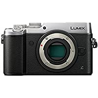 Panasonic Lumix DC-GX850 Micro Four Thirds Mirrorless Camera (Silver) (International Model No Warranty)