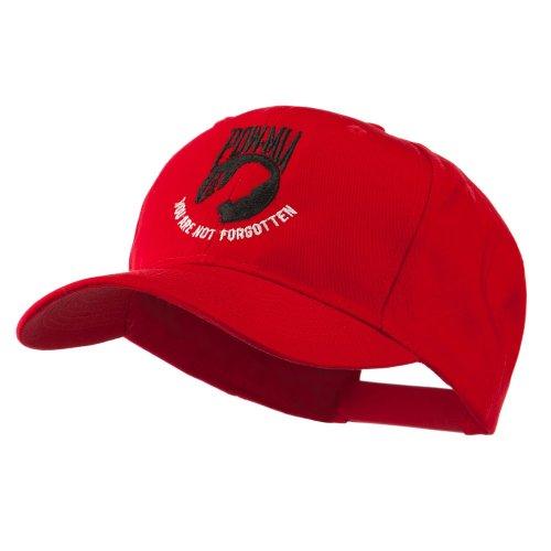 Pow Mia Symbol with Wording Embroidered Cap