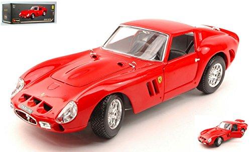 BURAGO BU16602 FERRARI 250 GTO 1962 RED ORIGINAL