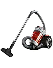 Bissell 1547E OptiClean Multi-Cyclonic Bagless Canister Vacuum, Red