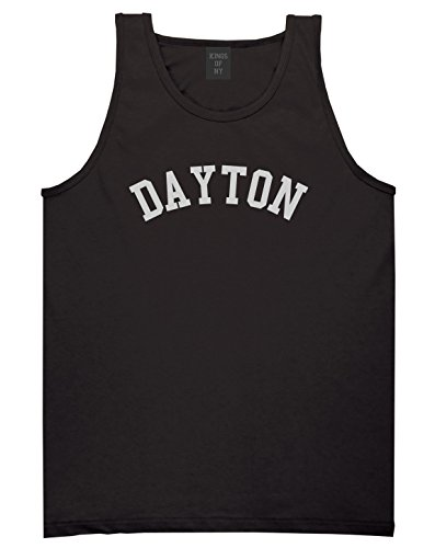 Dayton Ohio Mens Tank Top Shirt X-Large Black