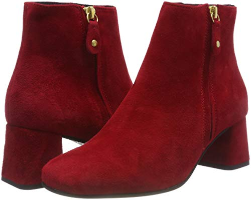 Para red 324 Pavement Rojo Suede 324 Crystal Botines Mujer vwUnEnZq1